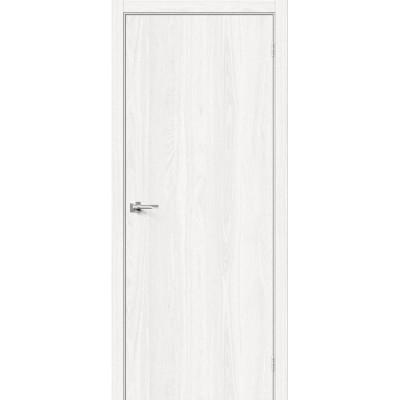 Межкомнатная дверь с экошпоном Браво-0 WhiteDreamline