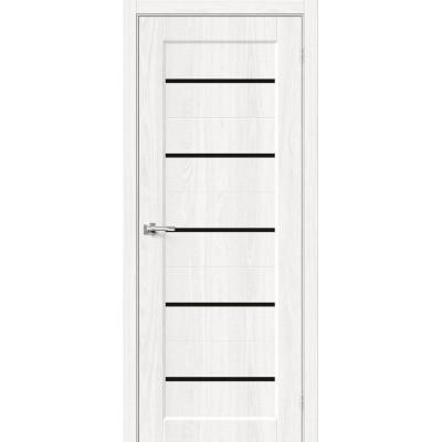 Межкомнатная дверь с экошпоном Мода-22 Black Line WhiteDreamline