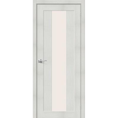 Межкомнатная дверь с экошпоном Порта-25 Bianco Veralinga   Magic Fog