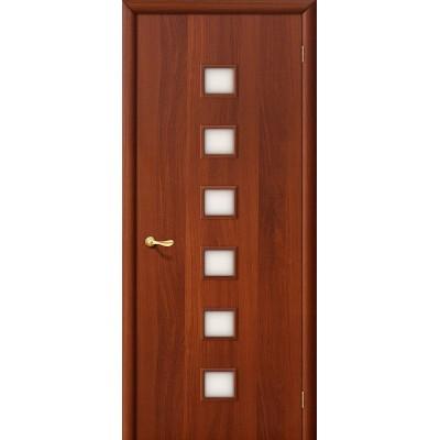 Межкомнатная дверь Финиш Флекс 1С Л-11 (ИталОрех) Сатинато