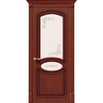 Межкомнатная шпонированная дверь Азалия Ф-15 (Макоре) Худ.